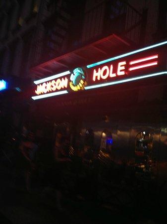Jackson Hole - Second Ave. : enseigne