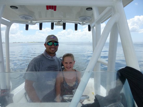 Tampa FL Fishing Charters: Hannah and Captain Will