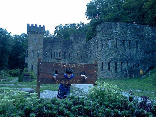 Loveland Castle: Great fun for kids!