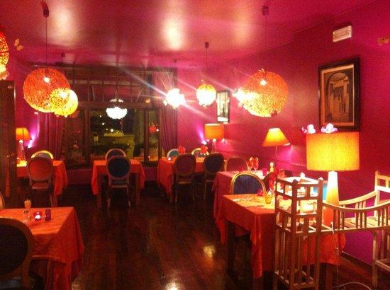 Les Amourettes - L'Isle de Grand-Mere : Foto eclectisch ingericht restaurant