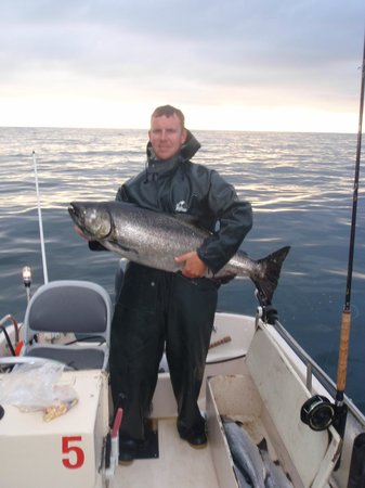 Joe's Salmon Lodge: 39 Lb Spring