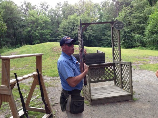 Orvis Sandanona Shooting Grounds: great instruction. very patient and professional