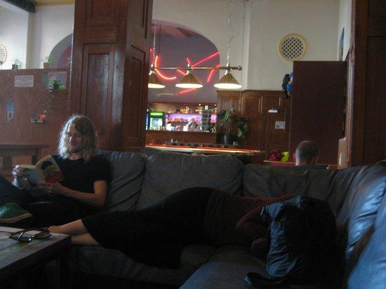 Three Little Pigs Hostel: View of lobby