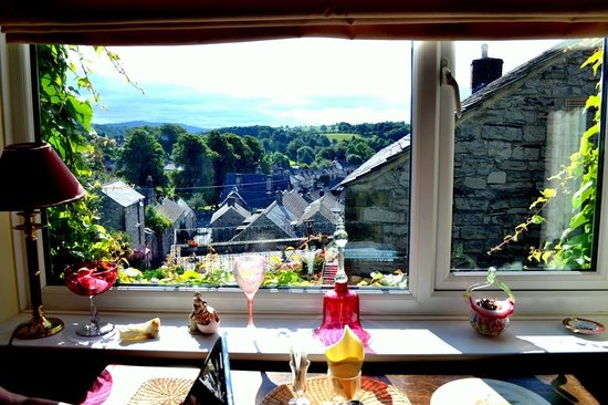 Chy an Dour: View from dining room