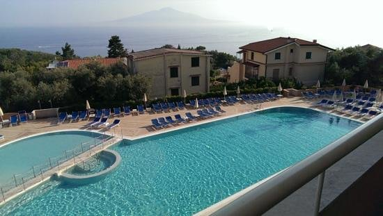 Grand Hotel Vesuvio : now thats what you call a view