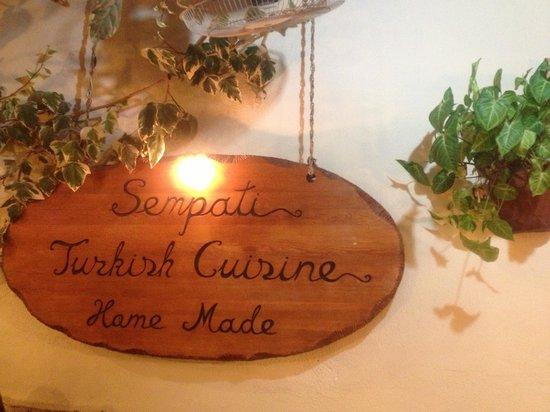 Sempati Turkish Cuisine : Sempati