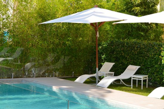 HOTEL LE CANBERRA : la piscine