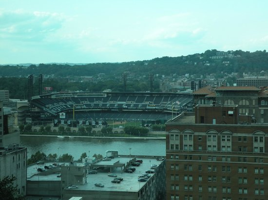 Fairmont Pittsburgh: View of PNC Park