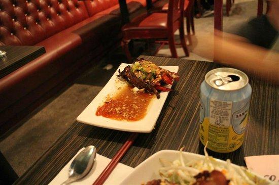 Luc Lac Kitchen : steak rolls: $5