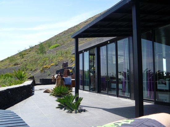 Nirvana Lanzarote: Geniale Terrasse