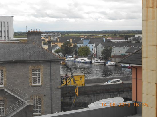 Radisson Blu Hotel, Athlone: view from window room 426