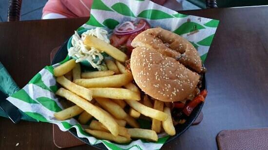 Boston O'Brady's: Супер острый бургер