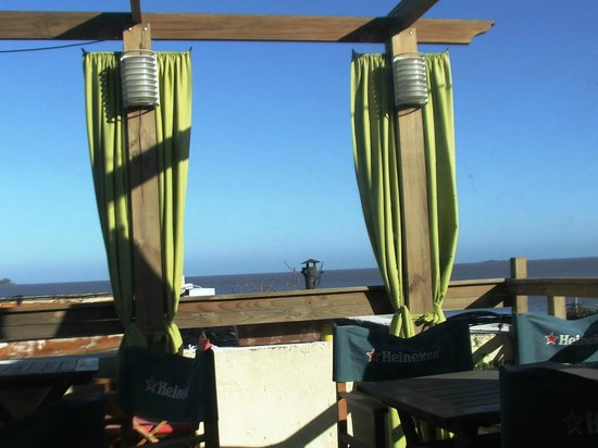 Posada La Juanita: Vista desde la terraza del comedor