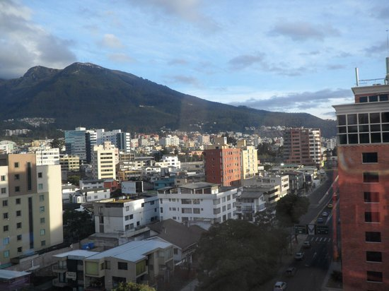 Wyndham Garden Quito: Vista do quarto