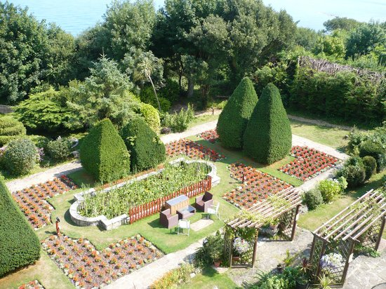 Luccombe Hall Hotel: gardens