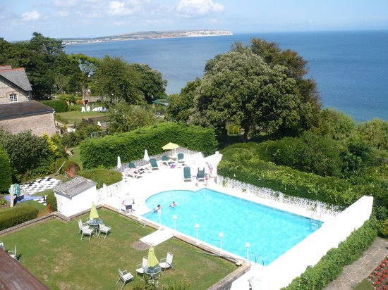 Luccombe Hall Hotel: the pool