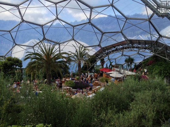 Med Terrace Restaurant: View from the biome walkway