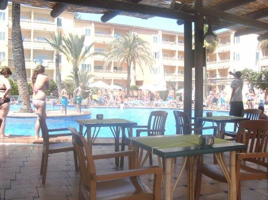 Cabau Aquasol: Pool bar