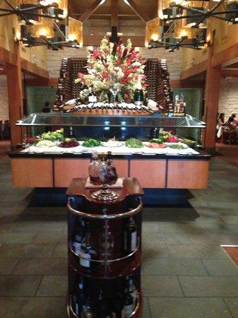 Fogo de Chao Brazilian Steakhouse : Salad Bar