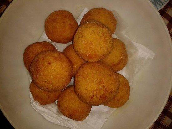 Mediterraneo Cucina Siciliana: arancini palermitani...