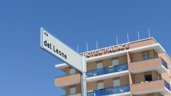 Hotel Palace Strandseitig