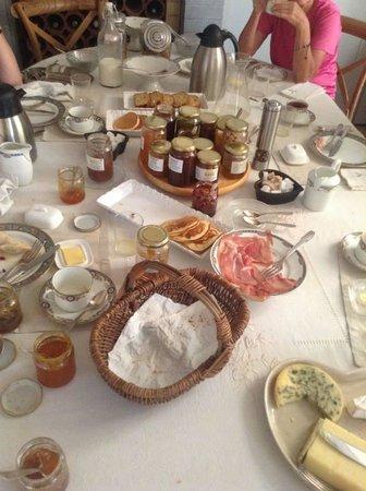 Les Chambres du Confiturier de Malethi: Jammy breakfast