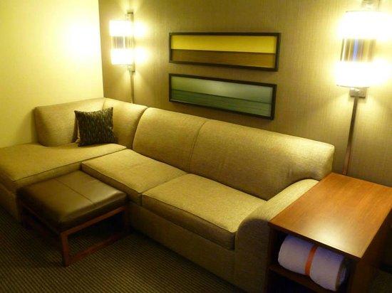 Hyatt Place Corpus Christi: Couch