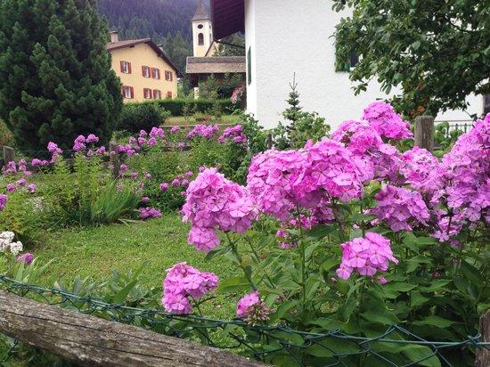 Hotel Genzianella: i giardini di Ziano