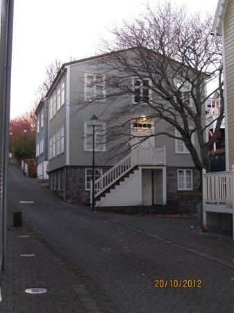 Hotel Reykjavik Centrum: stairs leading to apartment