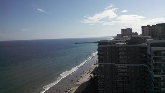 Sea Watch Resort : our view-north tower