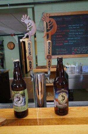 Rock Art Brewery : Tasting bar