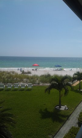 Blue Water Beach Club: View from balcony