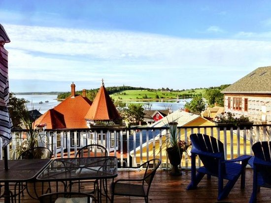 Your Drink Awaits You On The Deck Picture Of Boscawen Inn Lunenburg Tripadvisor