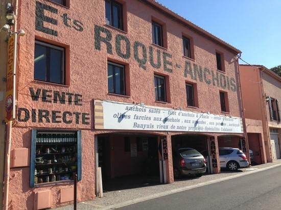 Fa ade avec parking photo de anchois roque collioure for Acheter maison collioure
