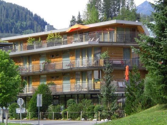 Skihotel Galzig: das Hotel