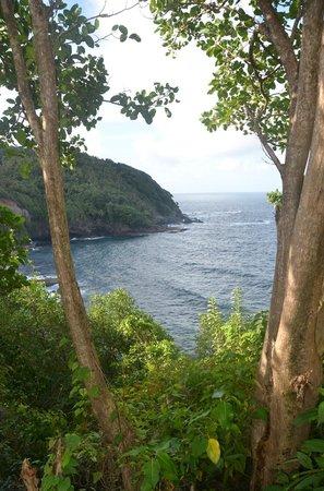 The Carib Territory: vue du territoire