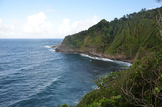 The Carib Territory : vue du territoire