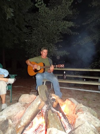 Point Sebago: Music Around the Campfire