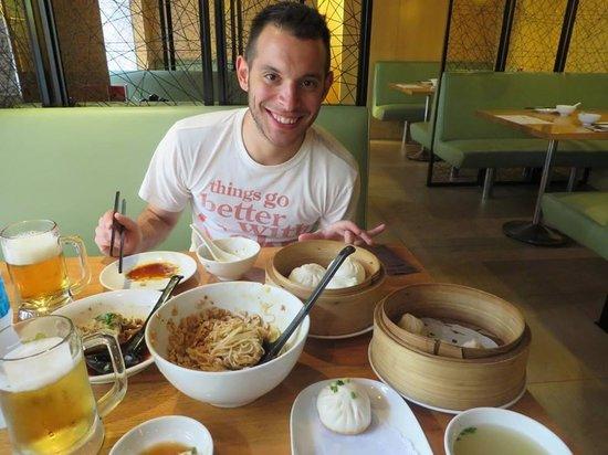 Crystal Jade La Mian Xiao Long Bao: So much food!