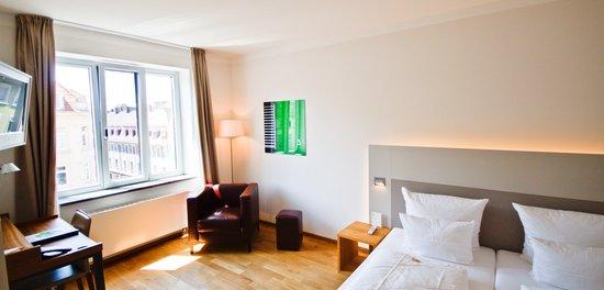Qube Hotel Heidelberg: Qube Doppelzimmer