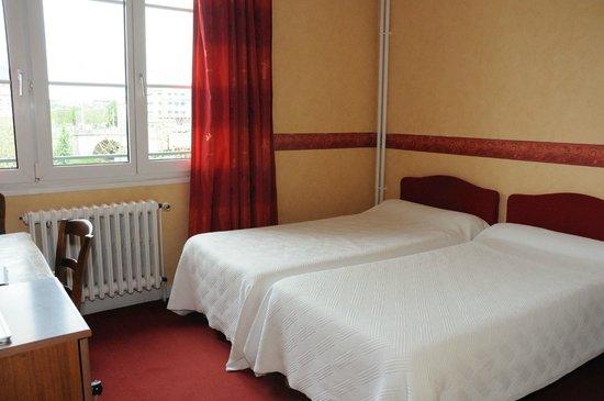 Hotel de Harlay : chambre twin (2 lits 1 personne)