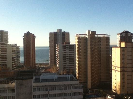 Flash Hotel Benidorm: view from our room