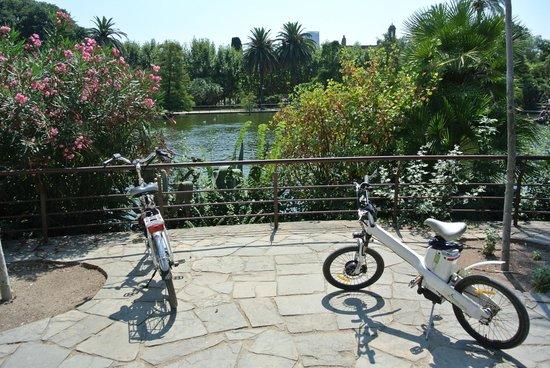 e-Bike Rent Tours : Parc Ciutadella