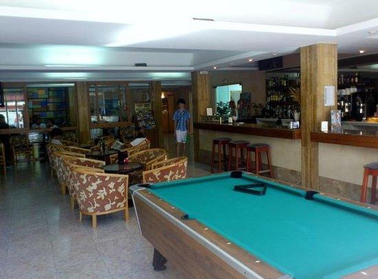 Hotel Amic Gala: Lobby bar