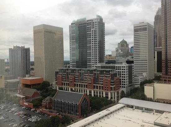 The Westin Charlotte : Rm 2033 view