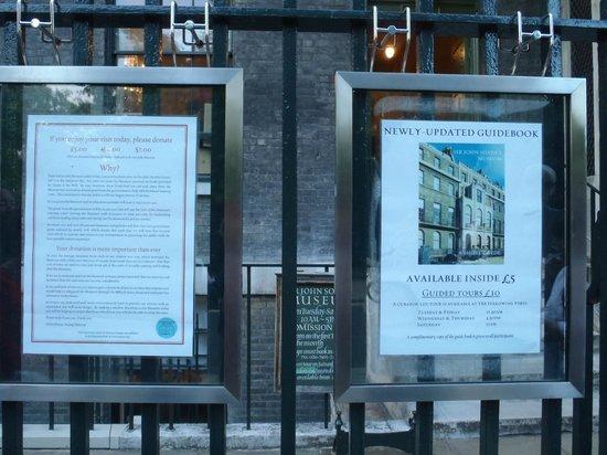 Sir John Soane's Museum: Istruzioni 2