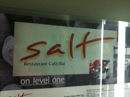 The Waterfront: Salt restaurant