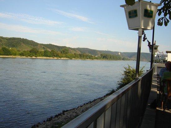 Hotel Restaurant Zur Kripp : Blick von der Biergarten