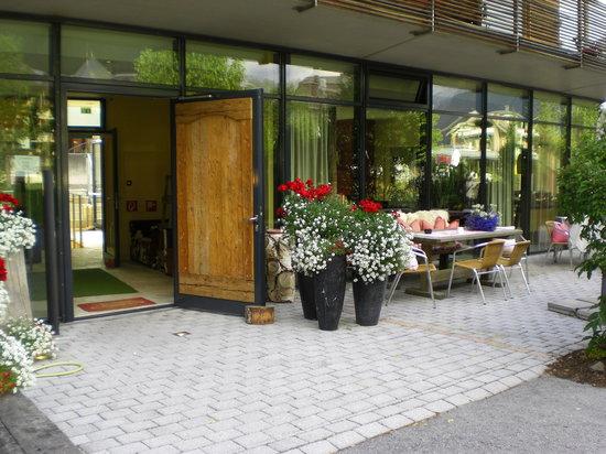 Skihotel Galzig: Hoteleingang