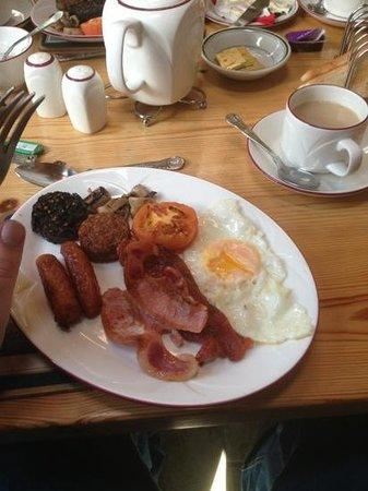 Glen Gat Guesthouse : great service! lovely full Irish breakfast !